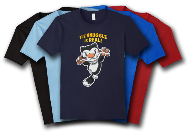 Scratch9: The Snuggle is Real T-shirt